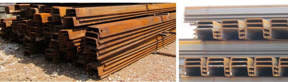 Supply and Rental of Sheet Pile Materials